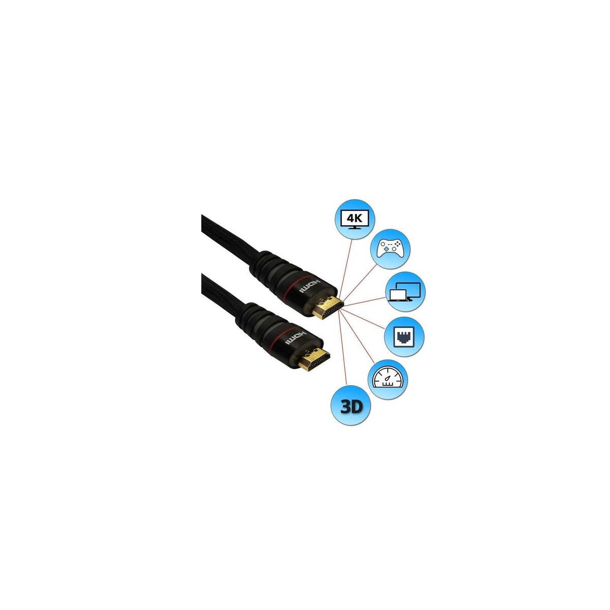 Buy HDMI Cable 10, 15 and 20 meter Online at Best Price in