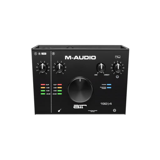 M-Audio AIR 192|4 2-In/2-Out 24/192 USB Audio Interface - Top View