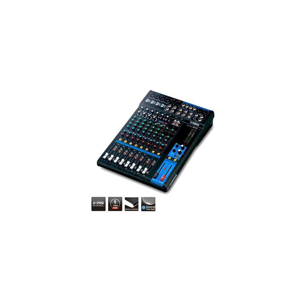 Yamaha MG12 12-Channel Mixing Console - Ooberpad