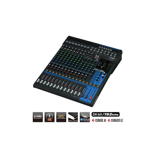 Yamaha MG16XU 16-Channel Mixing Console - Ooberpad
