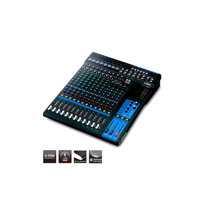 Yamaha MG16 16-Channel Mixing Console - Ooberpad