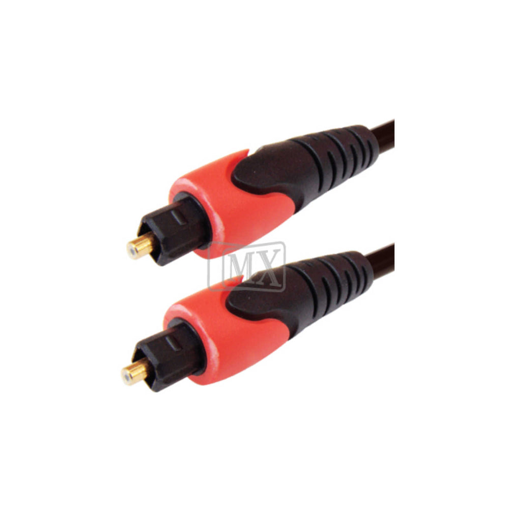 MX Toslink TO Toslink Fiber Optic Audio Cable Patch Cord (1216B) -  Ooberpad