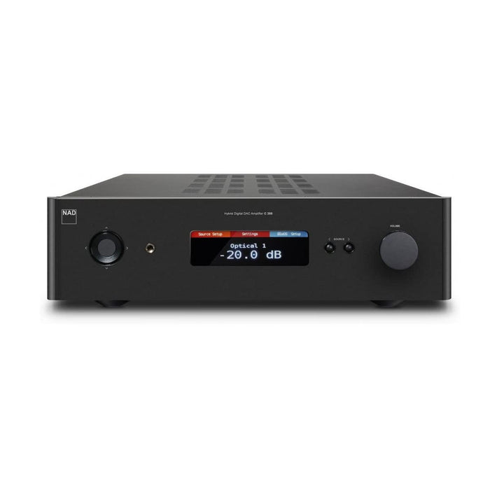 NAD C388 Hybrid Digital DAC Amplifier - Front View - Ooberpad India