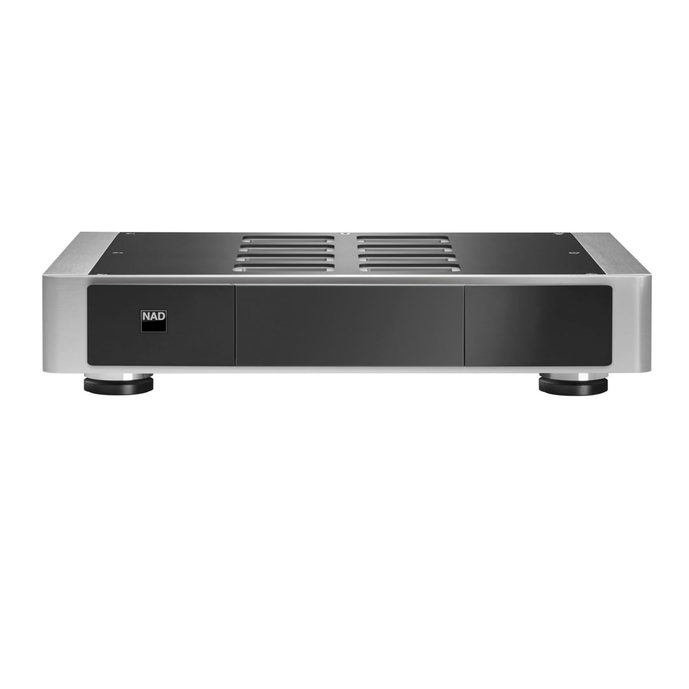NAD M22 V2 Stereo Power Amplifier - Front View