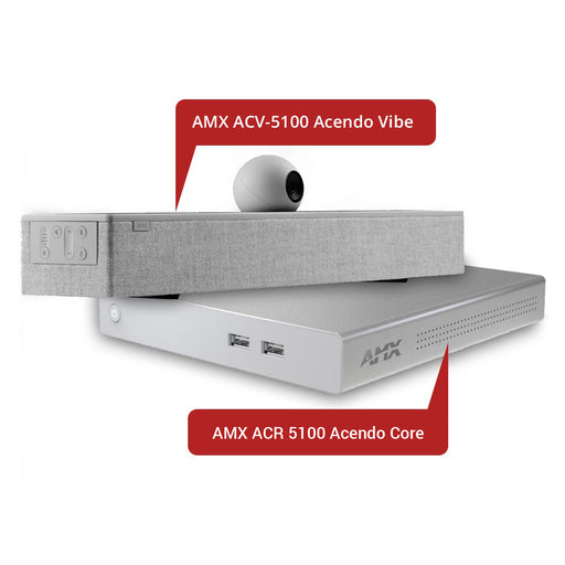 AMX ACV-5100 Acendo Vibe with ACR-5100 Acendo Core Collaboration System - Ooberpad