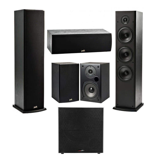 Polk Audio Fusion T- Series 5.1.2 Home Theatre Speaker Package with Polk Audio RC60i In-Ceiling Speaker + Denon AVR-S750H AV Receiver