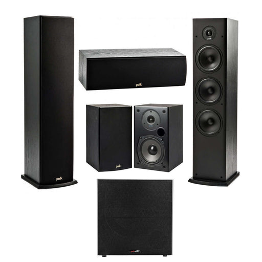 Polk Audio Fusion T- Series 5.1 Channel Home Theater Speaker Package -  Ooberpad