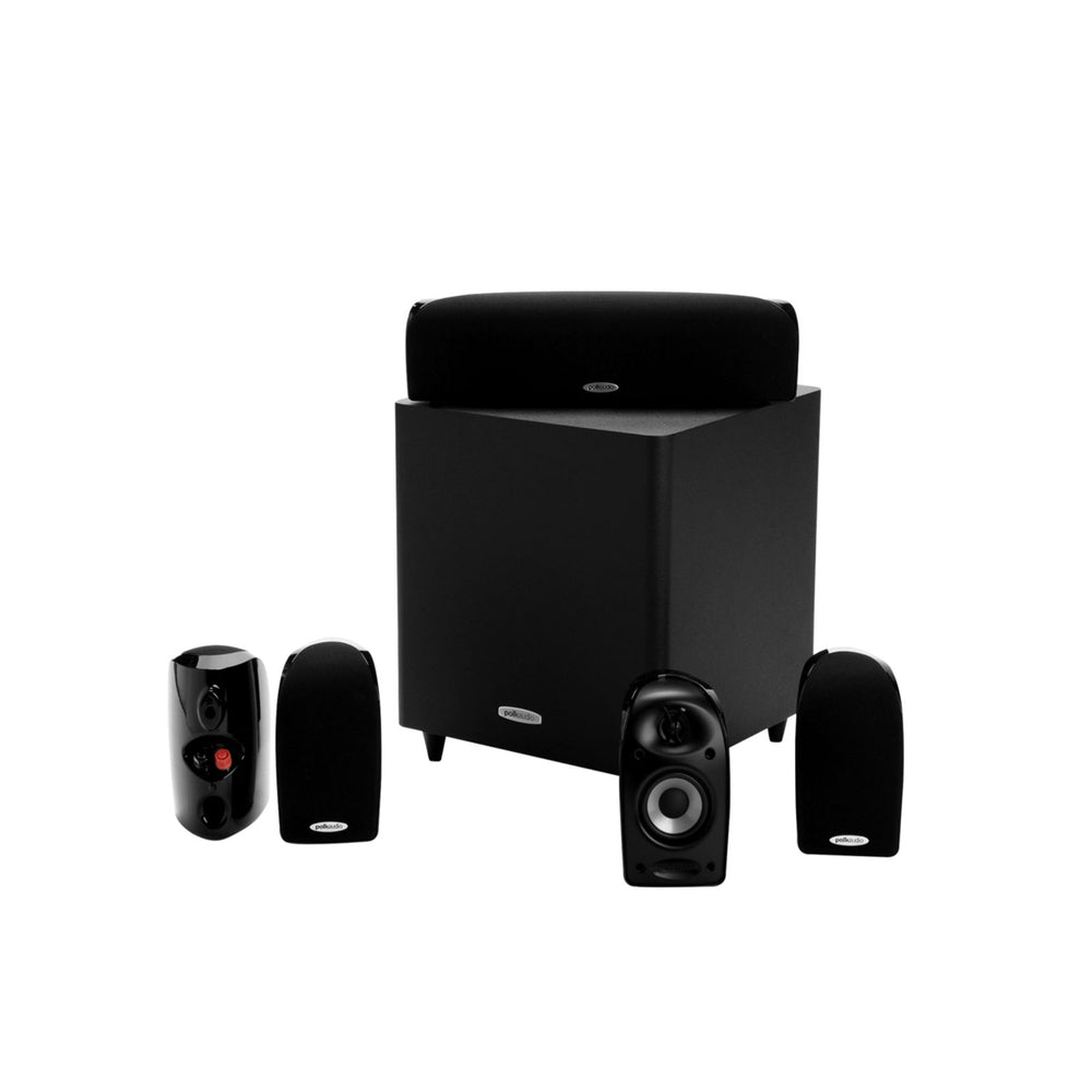 Polk Audio TL1600 5.1 Channel Home Theater Speaker System (Black Stone)