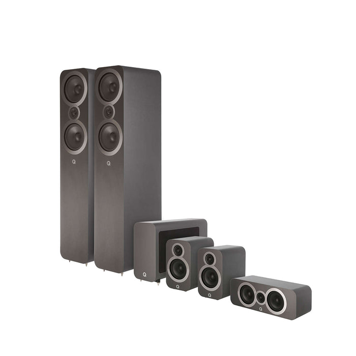 Q Acoustics 3050i Cinema 5.1 Channel Speaker Package -  Ooberpad