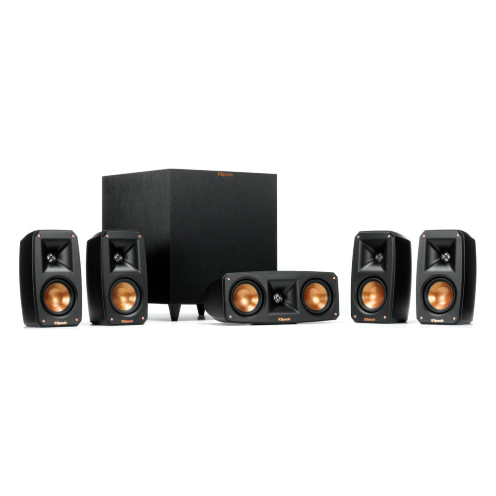 Klipsch Reference 5.1 Satellite Speakers with R-8SW
