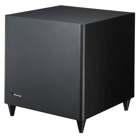 Pioneer S-31W Powered Subwoofer - Angled View
