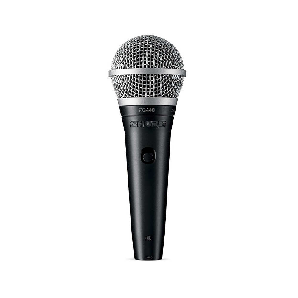 buy shure pga48 lc cardioid dynamic vocal microphone at best price in india ooberpad. Black Bedroom Furniture Sets. Home Design Ideas