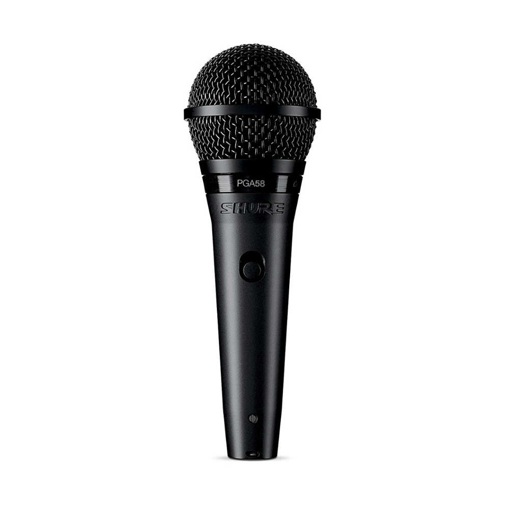 Shure PGA58-LC Cardioid Dynamic Vocal Microphone (without cable) -  Ooberpad