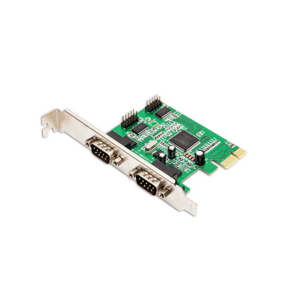 Syba (SY-PEX-4S) PCI-Express RS-232 Serial 4-Port Card -  Ooberpad