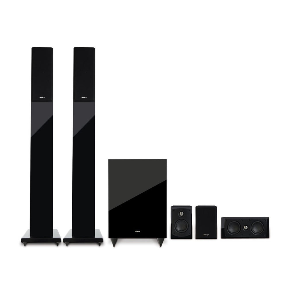 Tannoy HTS 201 Tower & Satellite 5.1 Channel Home Theatre Speaker System -  Ooberpad