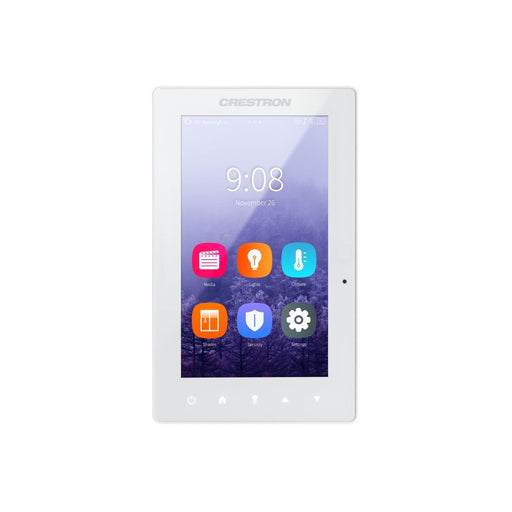 Crestron TSW-560P-W-S  5 in. Touch Screen, Portrait, White Smooth