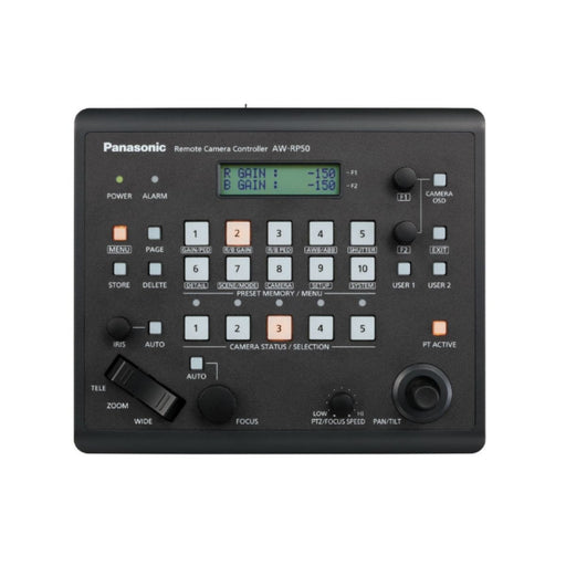 Panasonic AW-RP50 Compact Remote Camera Controller - Ooberpad