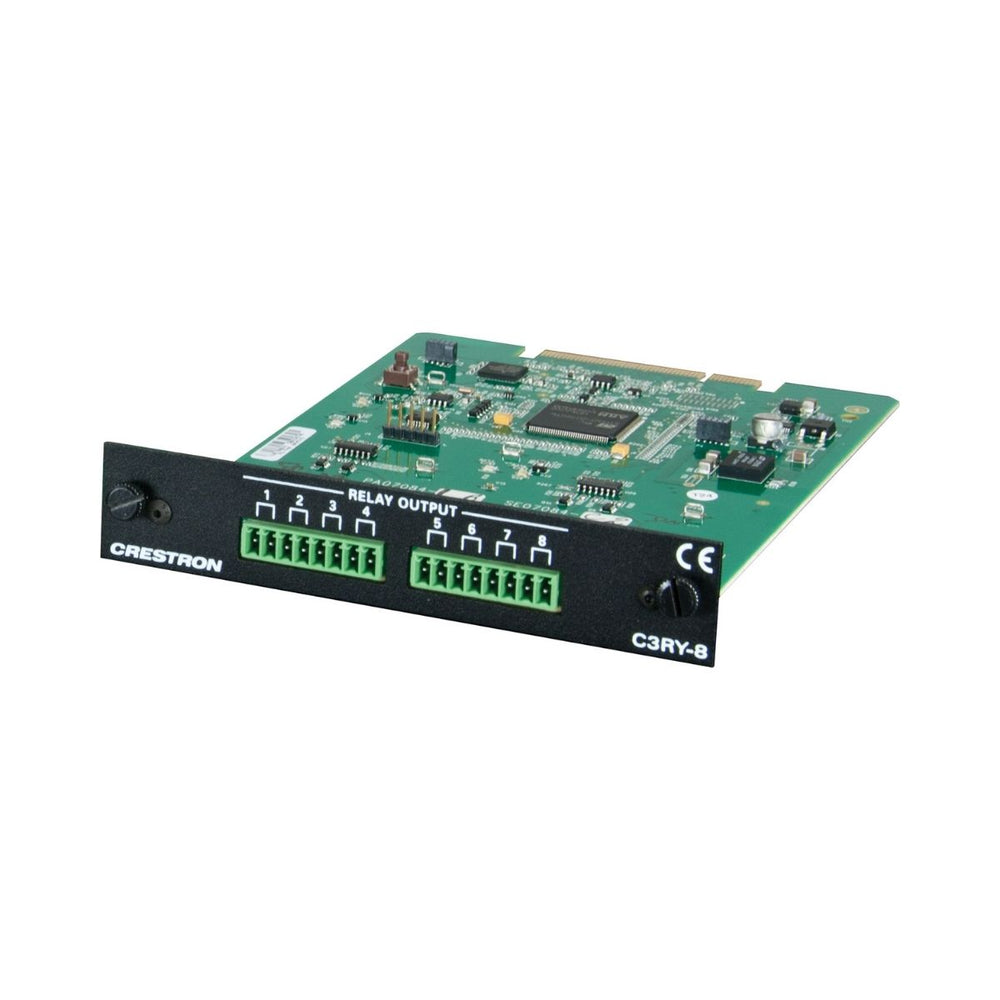 Crestron C3RY-8  3-Series™ Control Card – 8 Relay Ports - Ooberpad