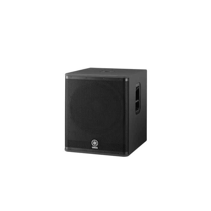 Yamaha DSR118W Active PA Subwoofer - Angled View