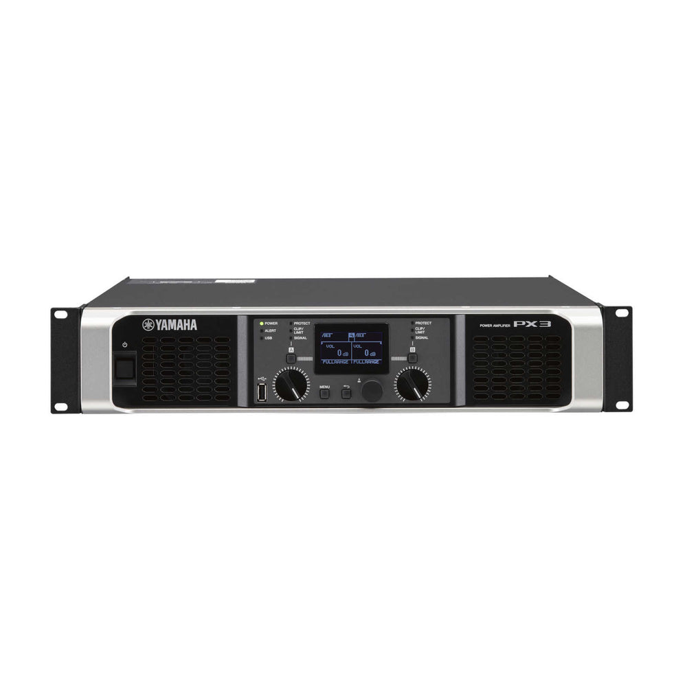 Yamaha PX3 Power Amplifier - Front View