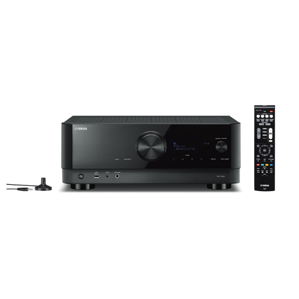 Yamaha RX-V6A 7.2-Channel AV Receiver with 8K HDMI and MusicCast - Ooberpad India