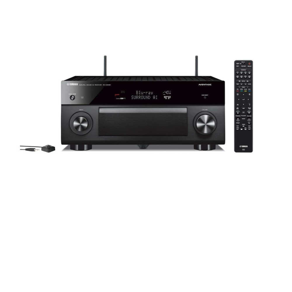 Yamaha AVENTAGE RX-A2080 9.2 Ch AV Home Theater Receiver with Surround:AI -  Ooberpad