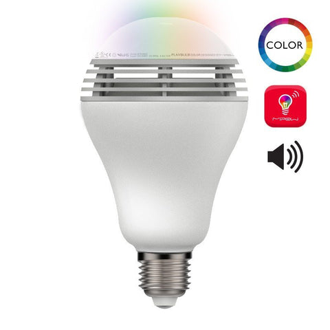Mipow BTL100C Playbulb colour LED Speaker Light
