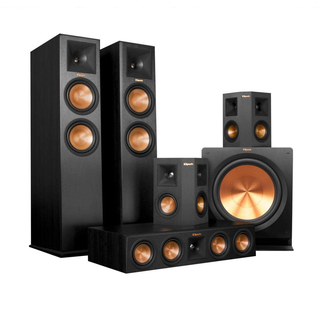 buy klipsch reference premiere rp 280 5 1 home theater speaker package at best price in india. Black Bedroom Furniture Sets. Home Design Ideas