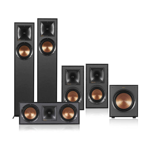 Klipsch R-610F 5.1 Home Theater Speaker Package