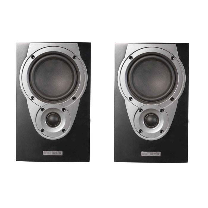 Mission MX1 Stand-Mount Bookshelf Speaker (Pair) - Black