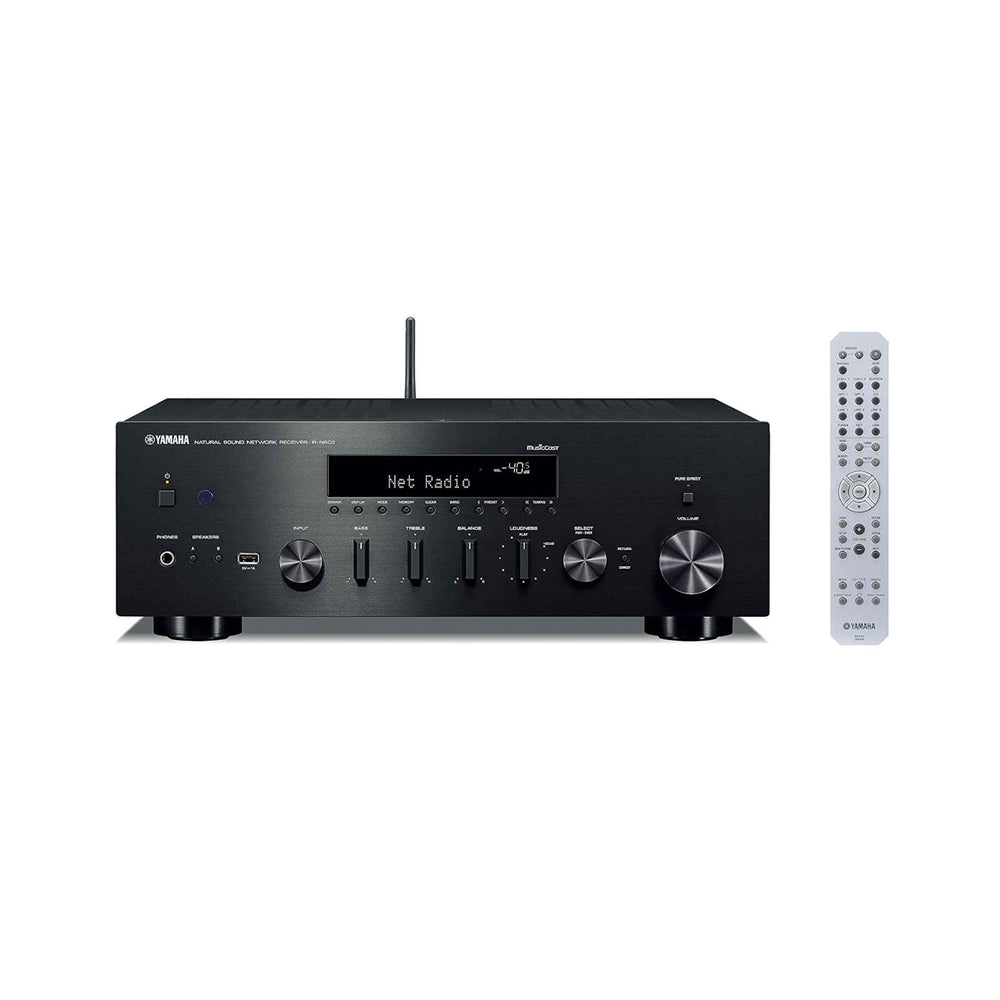 Yamaha R-N602 Network Stereo Receiver with Wi-Fi, Bluetooth and MusicCast -  Ooberpad