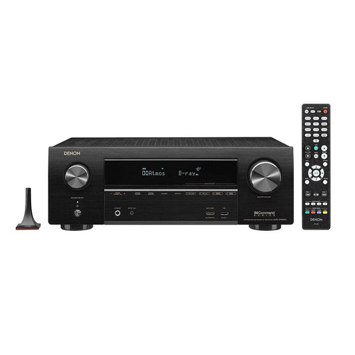 Denon AVR-X1600H 7.2-Channel 4K Ultra HD AV Receiver, Supports 3D Audio Formats and Built-In HEOS -  Ooberpad