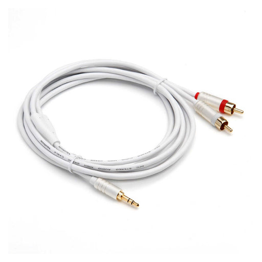BlueRigger 3.5MM to RCA Stereo Audio Cable (8ft /12ft) -  Ooberpad