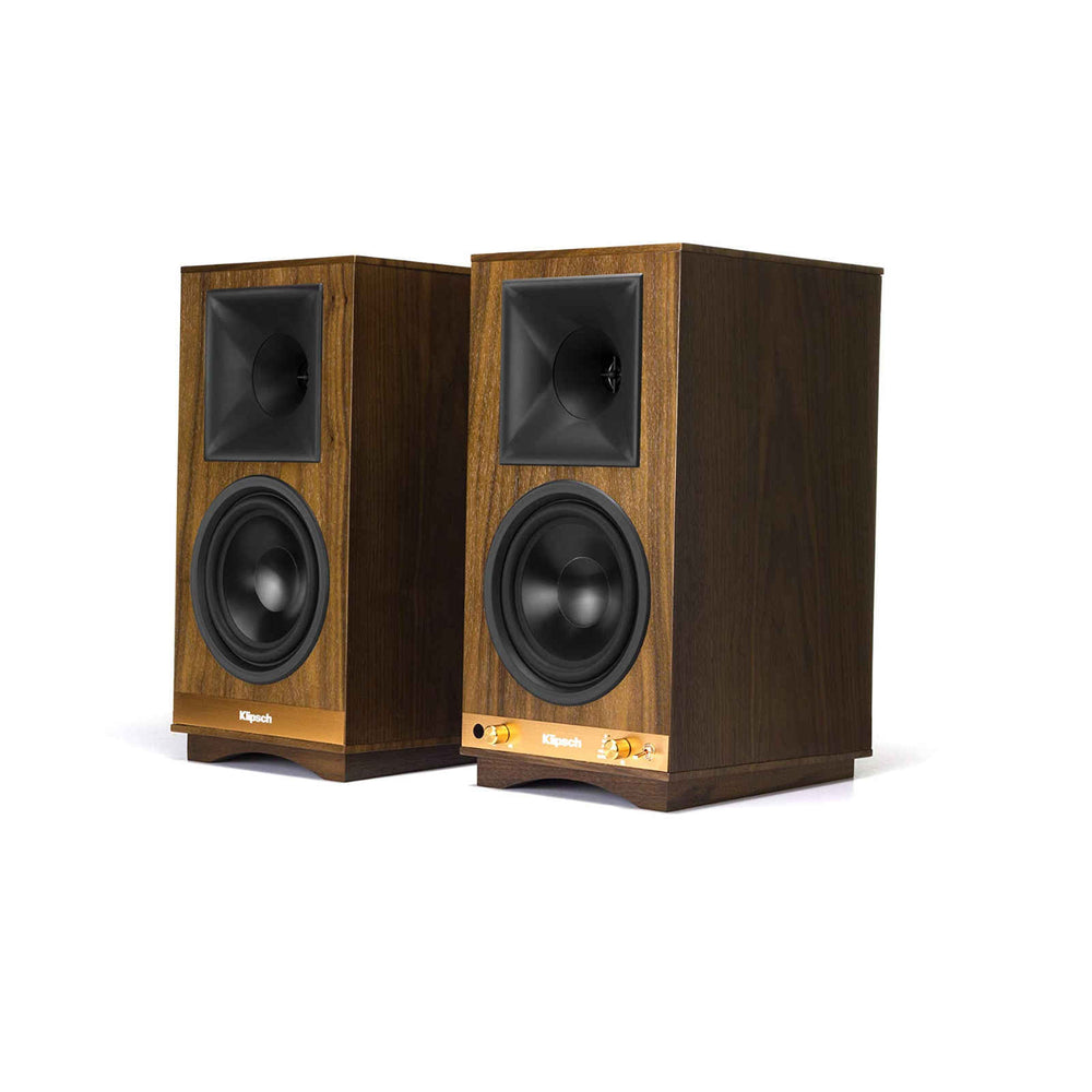 Klipsch The Sixes Powered Bookshelf Speaker with Bluetooth® & Phono Preamp (Pair)