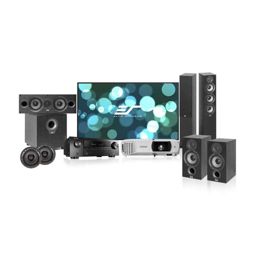 Home Theater Solution with Denon AVR-X1500H AVR for 150-200 sq ft room