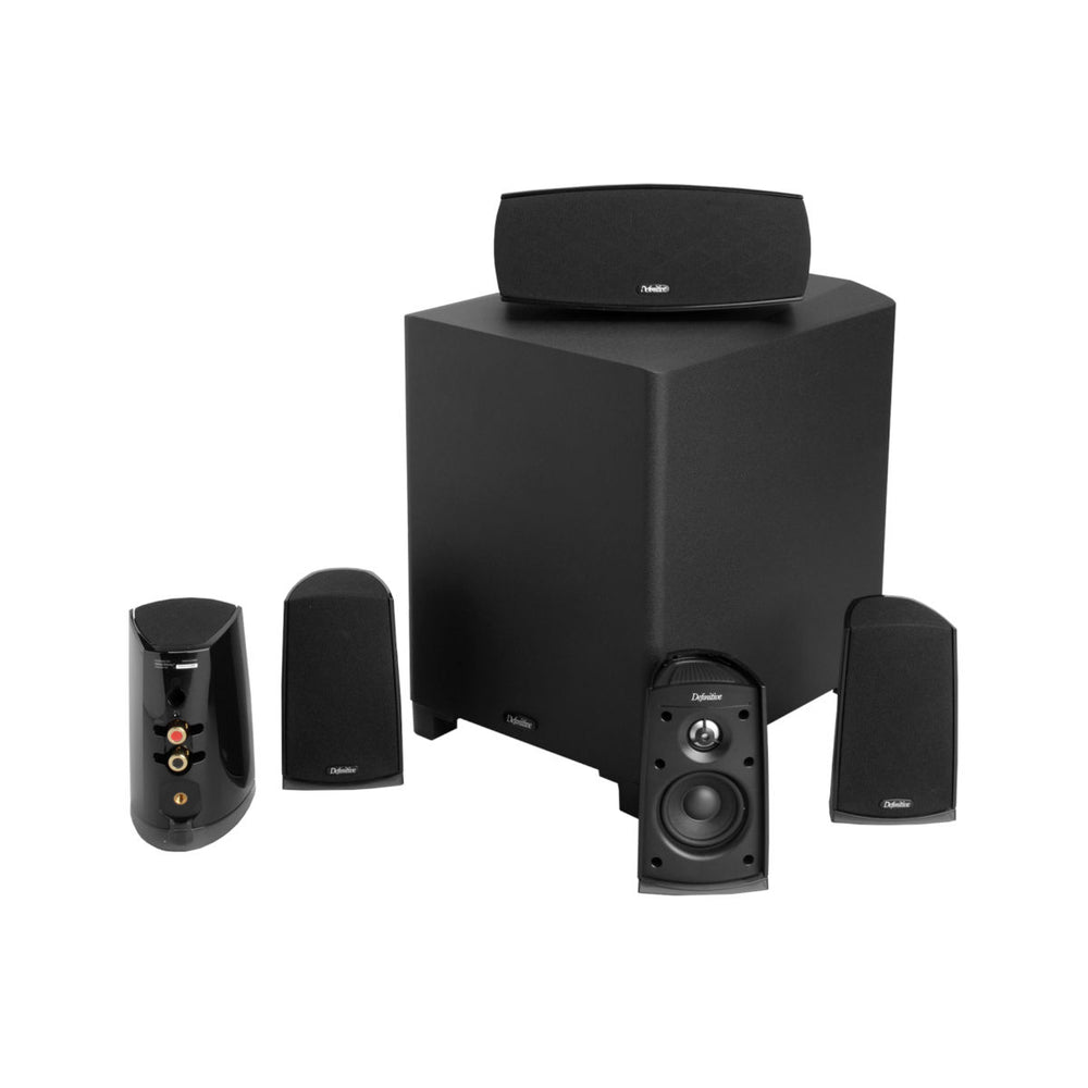 Definitive Technology ProCinema 400 5.1 Channel Versatile and Compact Home Theater Speaker System -  Ooberpad