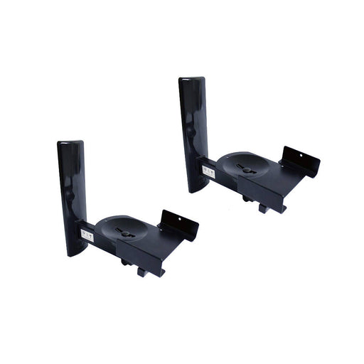 B-Tech BT77 Side Clamping Loudspeaker Wall Mounts with Tilt and Swivel -  Ooberpad