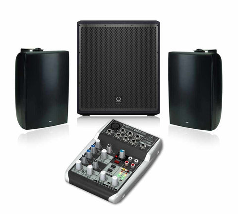 Turbosound iP 12B and Tannoy DVS8 Speaker System