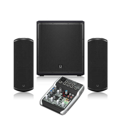Turbosound iP 12B & TCI 53T 2.1 Channel Speaker System