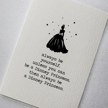 CARD | BE A PRINCESS