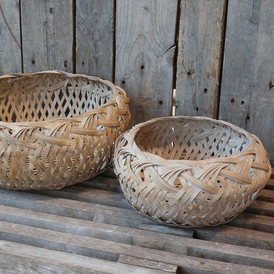 SHALLOW FRENCH BASKET
