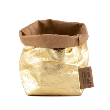 UASHMAMA PAPER BAG PICCOLO METALLIC