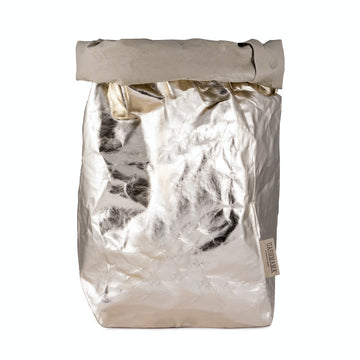 UASHMAMA PAPER BAG XXLARGE METALLIC