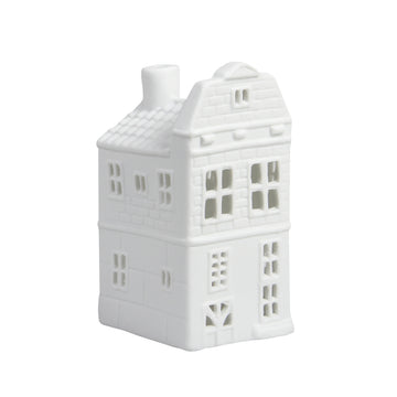 WHITE CANAL HOUSE TEALIGHT HOLDER | BLOC GABLE