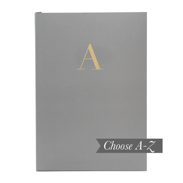 MONOGRAM A5 NOTEBOOK | GRANITE