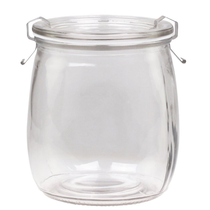 ROUND FRENCH PRESERVING JAR