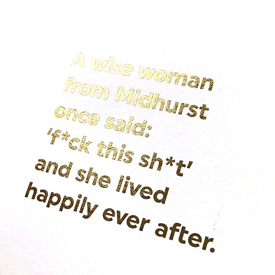 CARD | A WISE WOMAN FROM... MIDHURST
