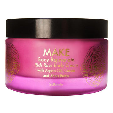 MAKE BODY REJUVENATE | RICH BODY ROSE CREAM