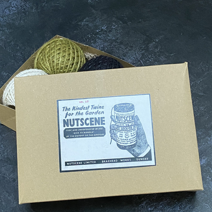 JUST JUTE TWINE COLLECTION BOX OF 6
