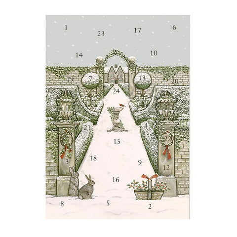 ADVENT CALENDAR CARD | WINTER GARDEN